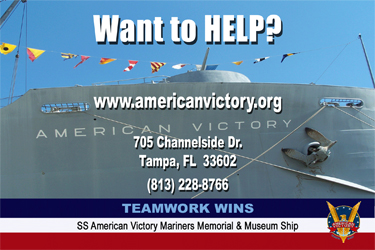 Want to HELP? Teamwork Wins SS American Victory
